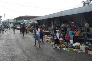 Belize City 市内観光