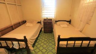 ホームステイ先の部屋の一例