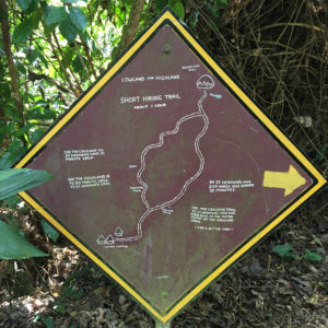 St. Herman's Cave Trail Map